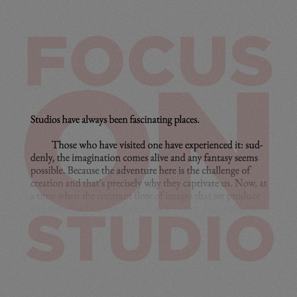 Image Focus on Studio 2